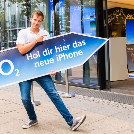 Einblicke Promotion und Events Telefonica O2