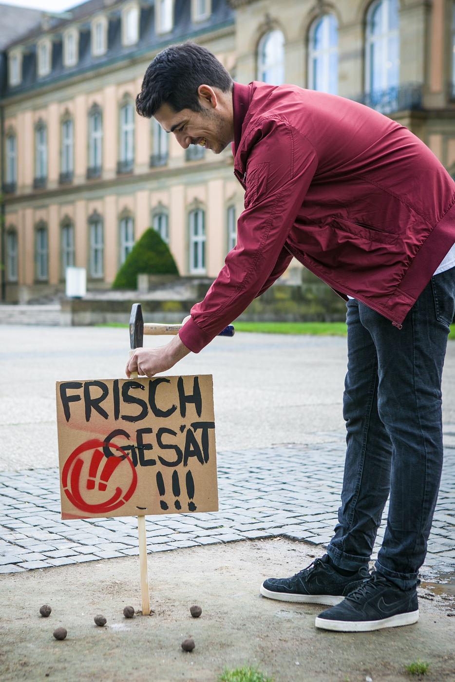 Frische Gesät Rivella Aktion Stuttgart