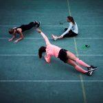Frauen machen Sport mit CEP-Socken