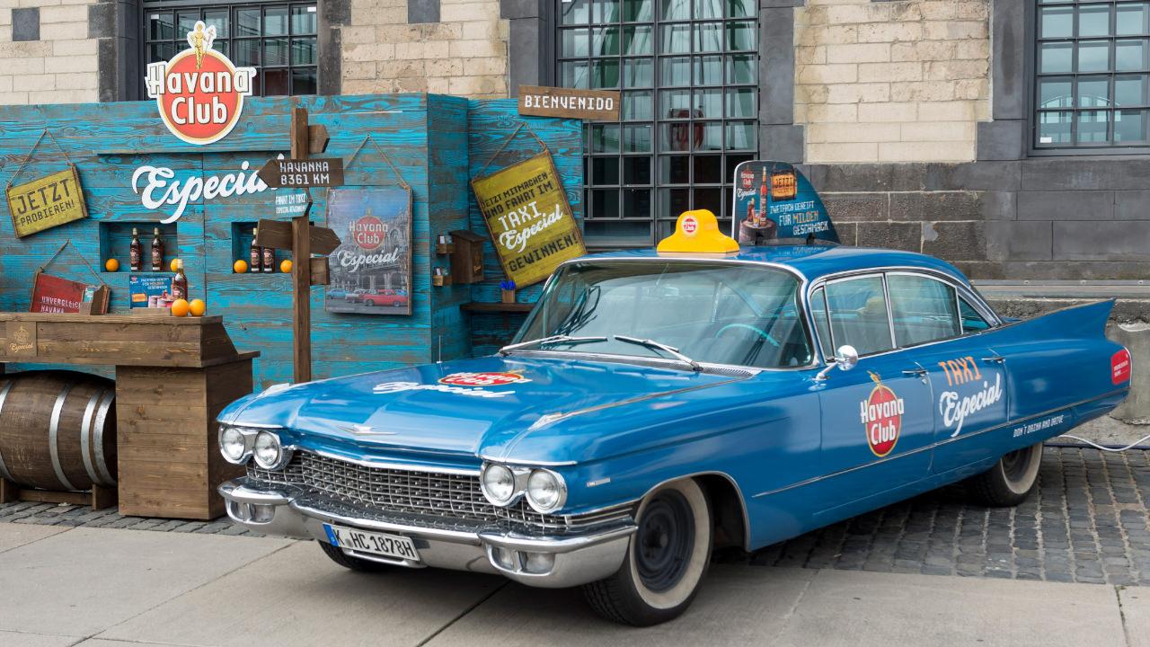 Havana Club Event Aufbau Taxi Especial