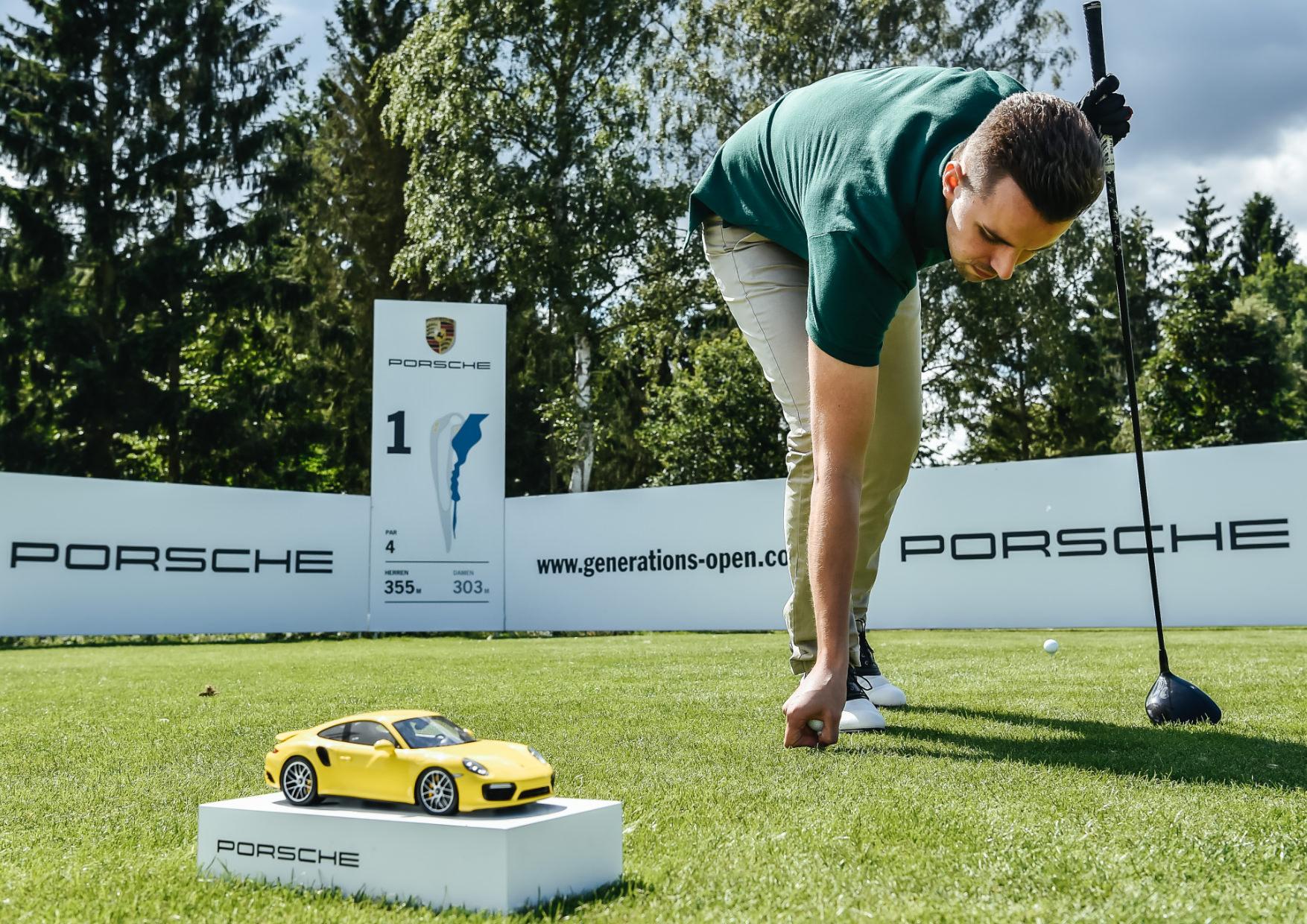 Porsche Generationsopen Golfer Handschlag