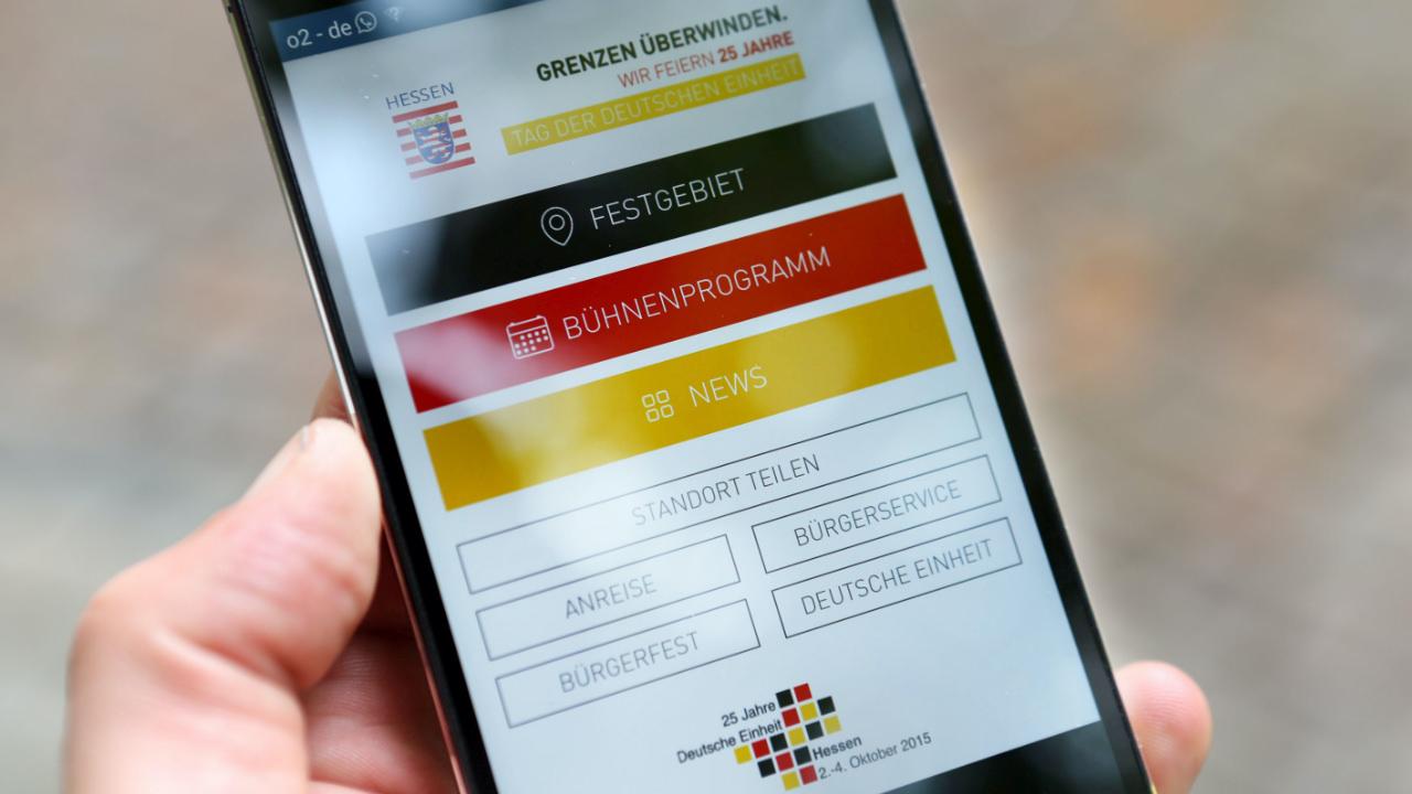 Tag der Deutschen Einheit App