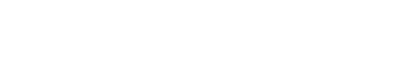 Logo follow red people