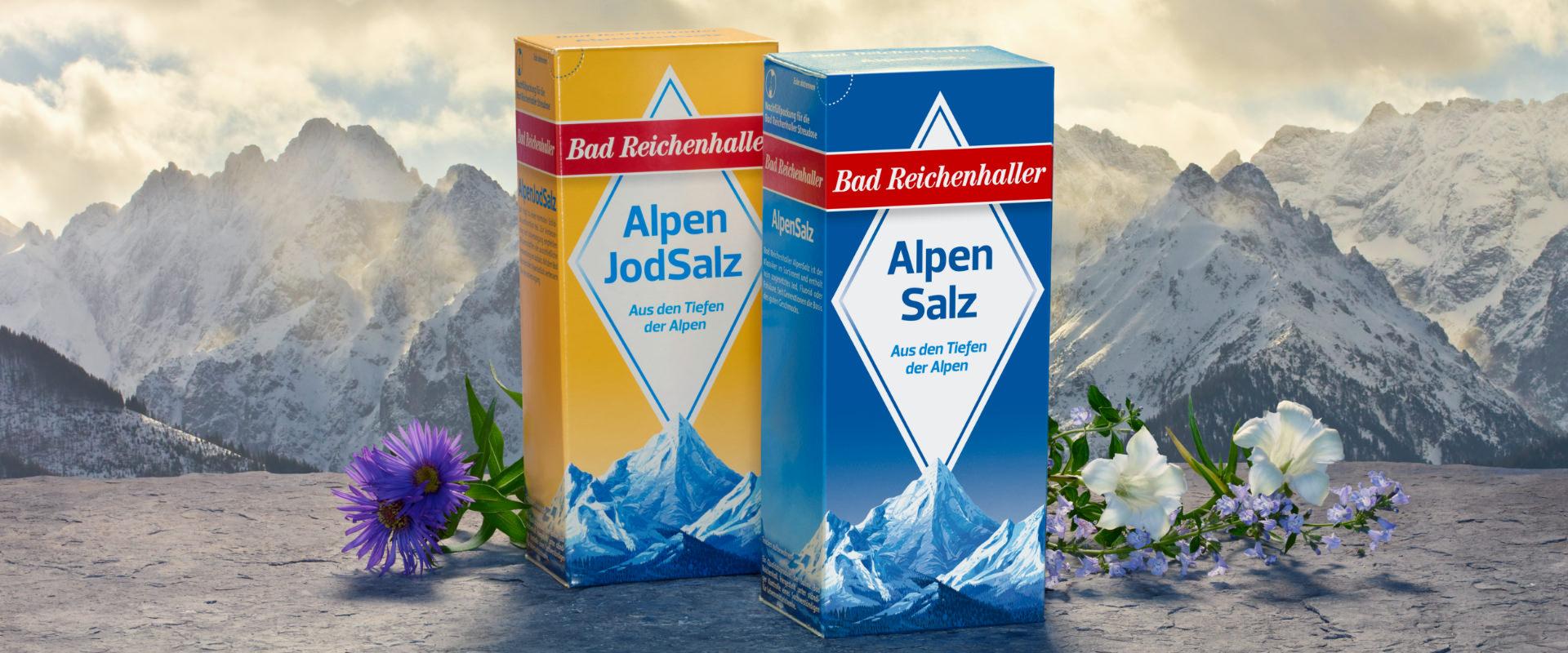 Bad Reichenhaller Alpen Jod Salz und Alpensalz