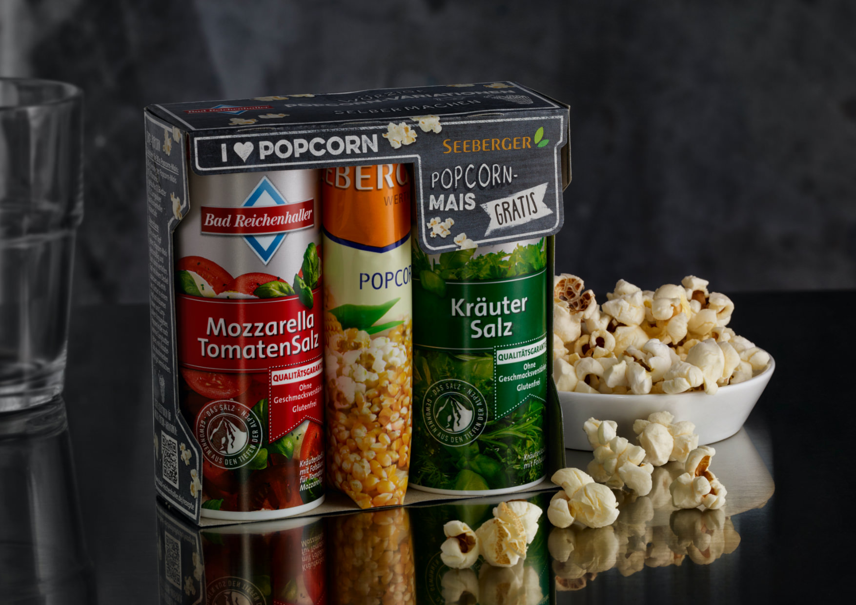 Bad Reichenhaller I love Popcorn Kit