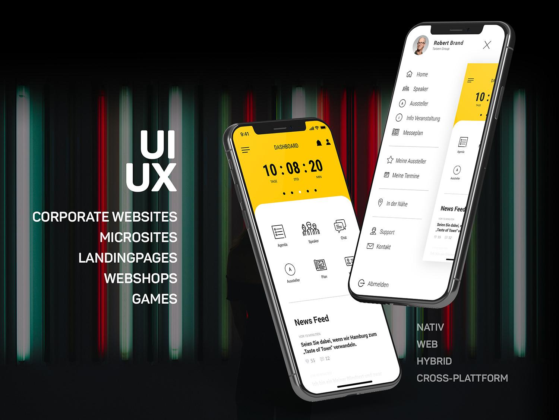 Digital Experience Event-App