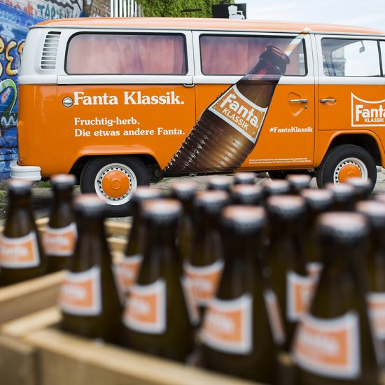 Fanta Klassik Sampling Tour 2016 am 19.6.2016 in Berlin. Foto: Gero Breloer für Coca-Cola GmbH